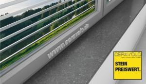 Belgian granite windowsill