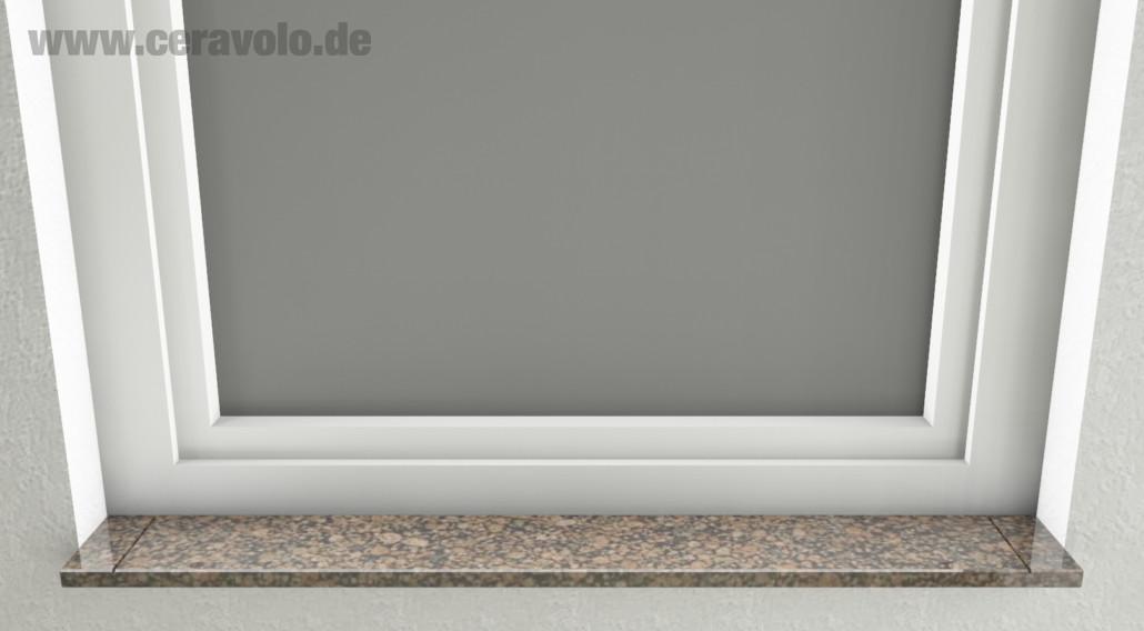 Baltik Braun Außenfensterbank