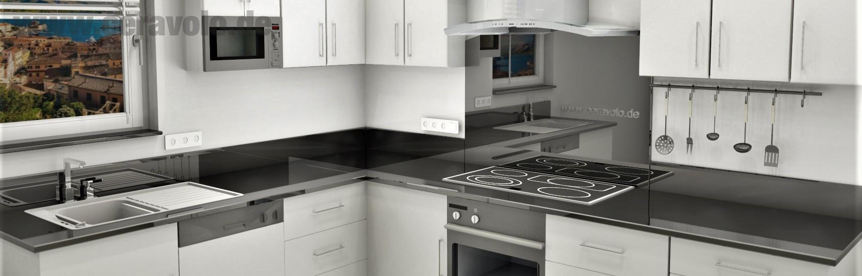 Kitchen Counter Nero Assoluto Marble Ceravolo