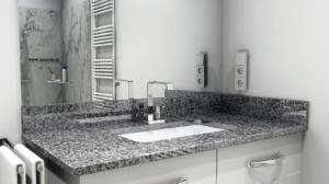Waschtisch-Platte Gris Nevada