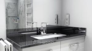 Waschtisch-Platte Nero Assoluto