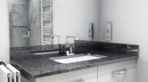 Waschtisch-Platte Steel Grey
